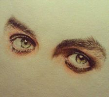 BJ Armstrong`s eyes by MaryMaryLP