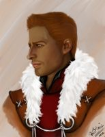 Painted King Alistair by OurMysticalNonsense