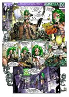 Old Amnesia IX spoof page one by Loopydave