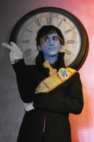 DHMIS Tony the talking clock cosplay by AshesAndRainbows