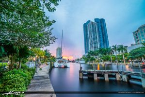 Fort-Lauderdale-New-River-at-the-Riverwalk-Downtow by CaptainKimo