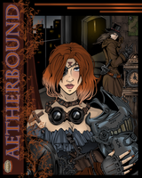 Cover -AETHERBOUND by ZoeStead