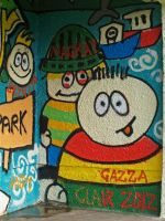 Bus shelter detail by piglet365