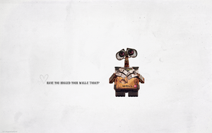 Wallpaper :: WALL.E by ringosdiamond