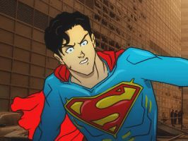 Superman Animation Test by PlanetDann