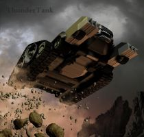 ThunderCat Chronicles: Tank by blackzig