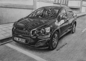 Chevrolet Aveo 1.4 LT AT6 by orhano