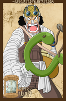 EPP - Water 7: Usopp by SergiART