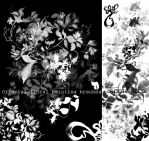trad oriental flower brushes by photoshop-addict28