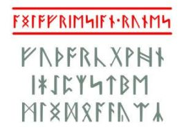 Anglo-Friesian Futhorc - font by PeKj