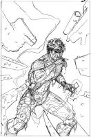 Gambit #7 Cover Pencils by TerryDodson