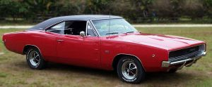 Red '69 Charger by SnafuGuy