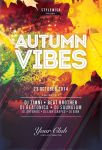 Autumn Vibes Flyer Template by styleWish