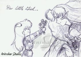 His little Girl... by Animaker131