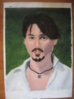 Johnny Depp by Aswulf