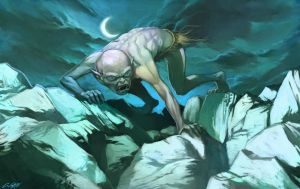 gollum by cuson