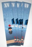 Kingdom hearts Moggle bookmark by knil-maloon