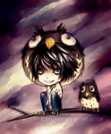 Death Note: L OWL by crophecy