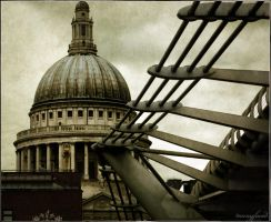 st Paul's by manyfaced