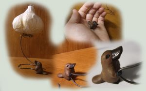 The Platypus's Garlic collage by JakeGreen
