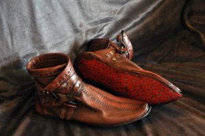 Leather shoes by Jonzou