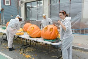Pumpkin Carving Artists, Master Work 11 by Miss-Tbones