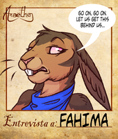 Araethen Interview Meme - Fahima by VampireSelene13