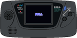 Sega Game Gear by BLUEamnesiac