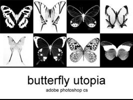 butterfly utopia brushes by unamariposa