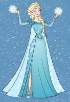 Elsa by Narusailor