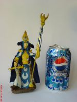 Teclis and a can :P by Woolfred