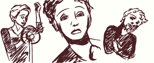 Edith Piaf by airatainted
