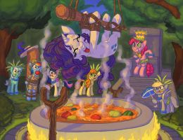 cakes and cannibals 2 by Siansaar