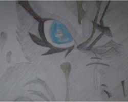 Grimmjow's eye by Wtorek95