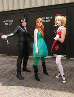 Gotham City Sirens 2 ACen 2015 by Teddy-sol
