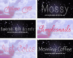 font pack: 07# by itskrystalized