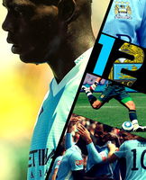 FIFA12 Cover - Manchester City by Dozit
