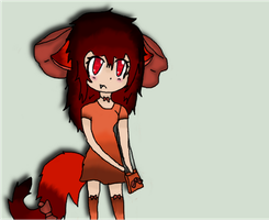 fox girl *finished* by RiskyApplePie