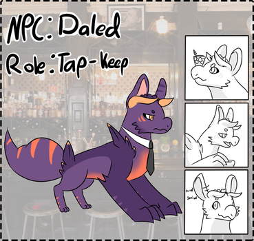 NPC Entry - Daled, Tap-Keep by Durskies