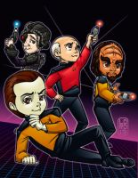 The Big Bang Trek by lordmesa