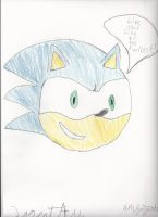 Sonic the hedgehog by 2great4u
