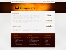 Web Design - Orange by illuminara