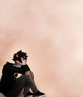 Karkat Sketch by iMuseling
