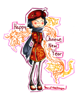 Happy Chinese New Year 2012 by HappehCakes