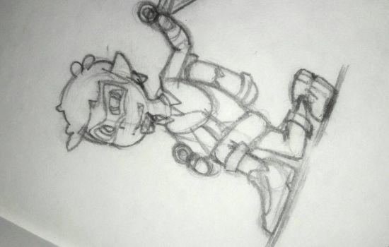 Kid/Squid TOG Sketch by ThatOtherGuy19
