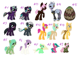 Orphanponies SALE! #1 by Make-A-Heart