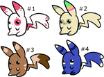 Chubby Pika Adoptables :CLOSED: by SALBP