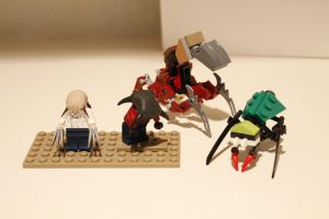 LEGO Half-Life 2 Organic Enemies by NeweRegion
