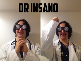 My Dr. Insano Cosplay from NYCC last year by NitroBlaster96