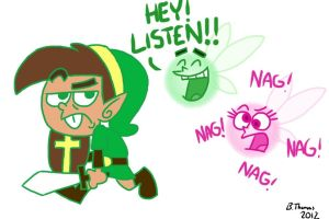 The Fairly Odd Legend of Zelda by BThomas64